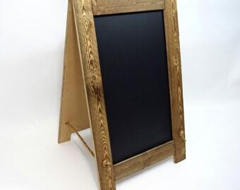 A Frame Chalkboard - Sidewalk Chalkboard - Sandwich Chalkboard - Chalkboard Easel - Double Sided Chalkboard - Framed Chalkboard - Menu Board