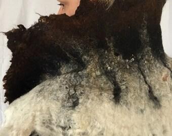 alpaca cowl scarf