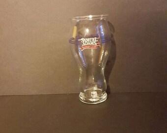 Samuel Adam's beer glass