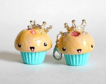 Princess Cupcake Charm