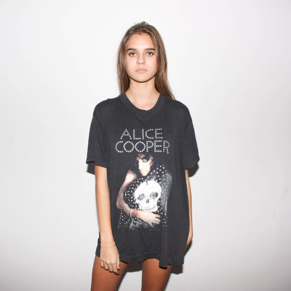 Concert 1989 Shirt Tour Cooper 80s Trash T Alice x11a8HX