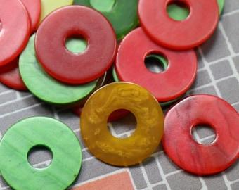 3 Vintage Bakelite Tokens