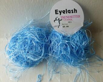 Sale Baby Blue 13 Eyelash  by Trendsetter Yarns