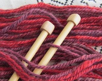 La La La Lola RockStar Handspun Yarn - 55 yds - Wensleydale wool, N-Plied
