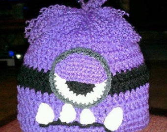 Purple Minion Hat