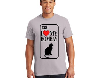 I Love My Bombay Tshirt, Tee, Shirt, Gift for Her, Gift for Him