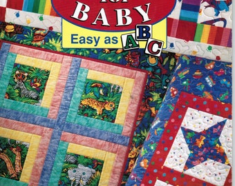 Quilts for Baby Easy as A B C by Ursula Reikes
