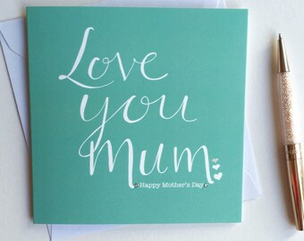Mother' day Best Mum card
