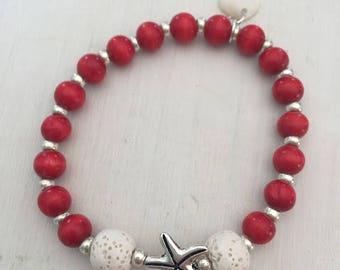 Lava Stone Diffusing Jewelry - Essential Oils Bracelet