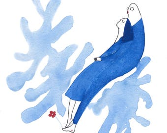 Have lan shi is a (love is blue No.12)