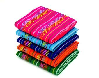 Fabrics Mexicans, Fiesta Decoration, Mexican Party Decor, Mexican Fabric Bundle, tribal fabric by Half yard, Mexican Cinco de Mayp, BUN135