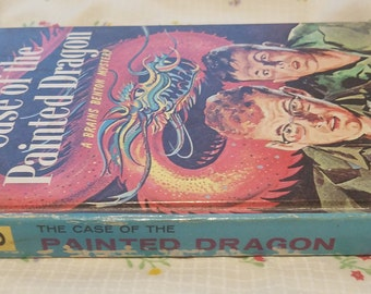 The Case of the Painted Dragon -- A Brains Benton Mystery #6 ** First Edition vtg 60s young adult detective novel