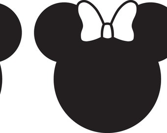 Mickey Family Decals! Your choice of 3 family members!