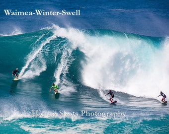 Waimea Winter Swell