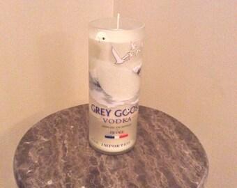 Grey Goose Vodka Bottle Candle