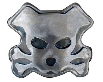 Dog Belt Buckle/ Outlaw Doggy/  Metal Belt Buckle/  Men's Belt Buckle/ Womens Belt Buckle/ Dog Lovers/ Big Belt Buckle / Bandit Dog Buckle