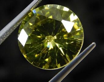 Amazing Natural Zircon 9.70 Carats VVS 12 x 12 x 7 mm