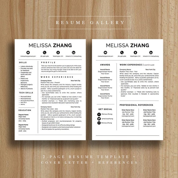 4 page professional resume template a4 and us letter cv 4 page professional resume template a4 and us letter cv template cover letter for microsoft word modern resume design mac pc spiritdancerdesigns Choice Image