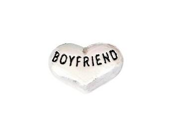 Boyfriend Floating Charm