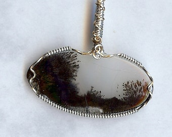 4163 Dendrite Pendant, Tree, Bushes