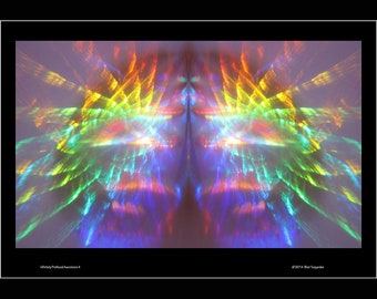 "Mother's Day Art Rainbow Photo Art Print Wall Art 13"" by 19"""