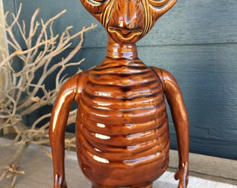 Vintage 80s Ceramic E.T. The Extra Terrestrial Figure