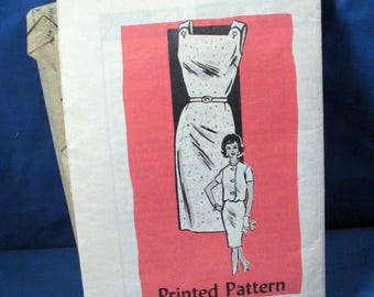 Vintage Sewing Pattern Misses Dress and Jacket  4774