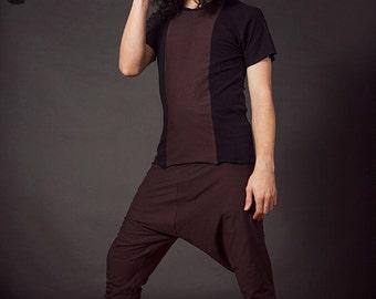 Triptych T-Shirt, Men's T Shirt, Men's Shirt, Men's Hooded Top, Men's Yoga Wear, Festival Wear, Festival Clothes,