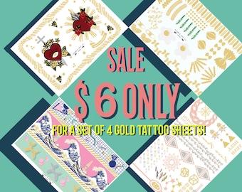 Metallic Tattoos bundles Summer Sale!!