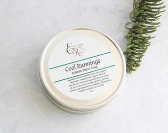 Cool Runnings Shave Soap, Mens Shaving Soap Gift, Men's Shave Soap,  Shaving Soap - All Natural Soap, Wet Shaving, Shaving Puck