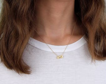 Name Necklace N1 • Personalized Necklace, Cursive Name Necklace, Name Necklace, Bridesmaid Gift, Gift For Her, Gold, Silver Rose Gold