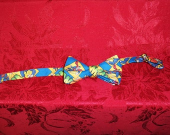 Superman comic print Bow Tie