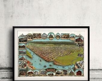 Eureka - Humboldt County - California - United States - 1902 - SKU 0038