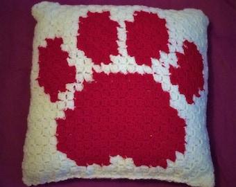red ash cushion