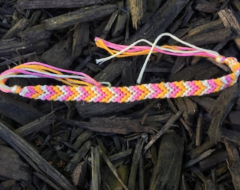 Sherbet colored Layering bracelet