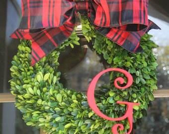UGA College Wreath, Fall Wreath, Side Door Wreath