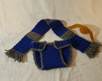 Harry Potter Ravenclaw Diaper Cover Outfit