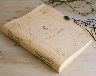Personalized Photo Album, Custom Wedding Guest Book, Wedding Album, Wedding gift, New Born Photo Album, Anniversary Gift, Birthday Guestbook