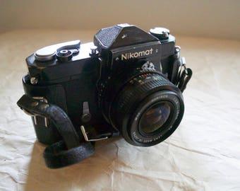 Nikon Nikomat FT 35mm Film Camera