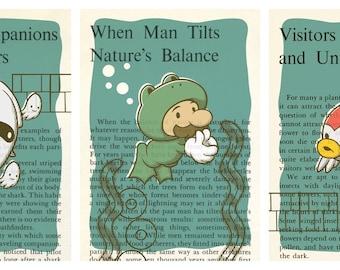 Under the Sea - Set of Three Prints