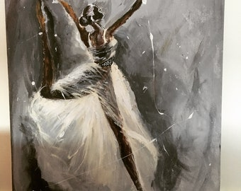 Abstract Dancer Painting
