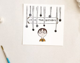 Original Painting - It is Your Birthday