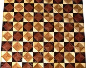 Ph-Wenge RG-Hb 8TS Chess Board