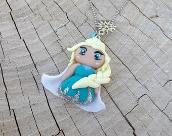 Necklace Princess Elza, Frozen