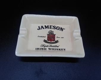 vintage ashtray/ advertising ashtray/jameson ashtray