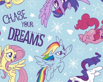 My Little Pony Chase Your Dreams Crib/Toddler Bedding Items~Custom Made~ FLANNEL