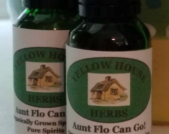 Aunt Flo Can Go! Spearmint Tincture
