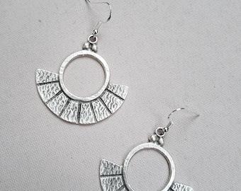 Earrings Silver 925 handcrafted lightweight