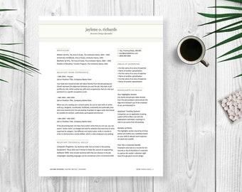 Resume Template | CV Template | Cover Letter | Word Resume | Professional Resume | Engineering Resume | Teacher Resume | Nurse Resumes