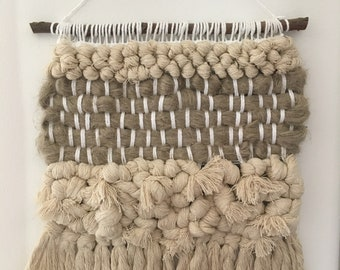 Woven Knotted Wall Hanging